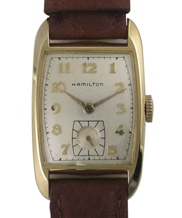 1952 Hamilton 14K Tonneau Cameron