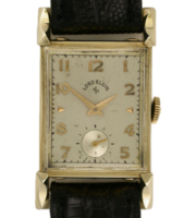 ELGIN 14K GENTS RECTANGLE WRISTWATCH