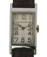 1936 Waltham 14K Rectangle