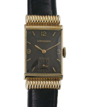 1946 Wittnauer Rectangular Covered Lugs