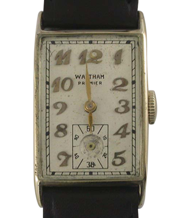1948 Waltham 14K Rectangle